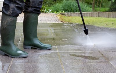 How The Pros Clean Your Home's Concrete Areas — Making Them Look Like New